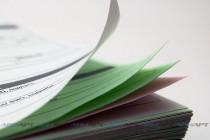 Комплект самокопирующихся бланков из 4х листов