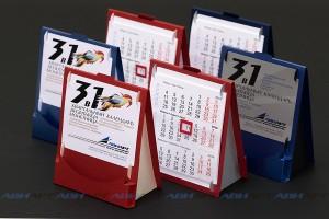 Календарь-домик- квартальный с визитницей и монетницей
