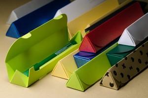 Сувенирная упаковка (футляры) для ручек из дизайнерского картона