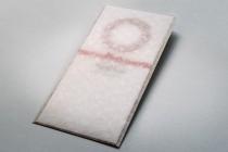 Подарочный сертификат в конверте из дизайнерской кальки