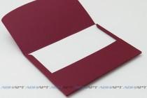 Папка-конверт А4. Текстурный картон, наненсение логотипа.