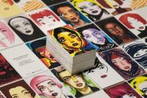 Авторские визитки 90х50, 4+4, цифровая печать, двухслойная текстурная (дизайнерская) бумага